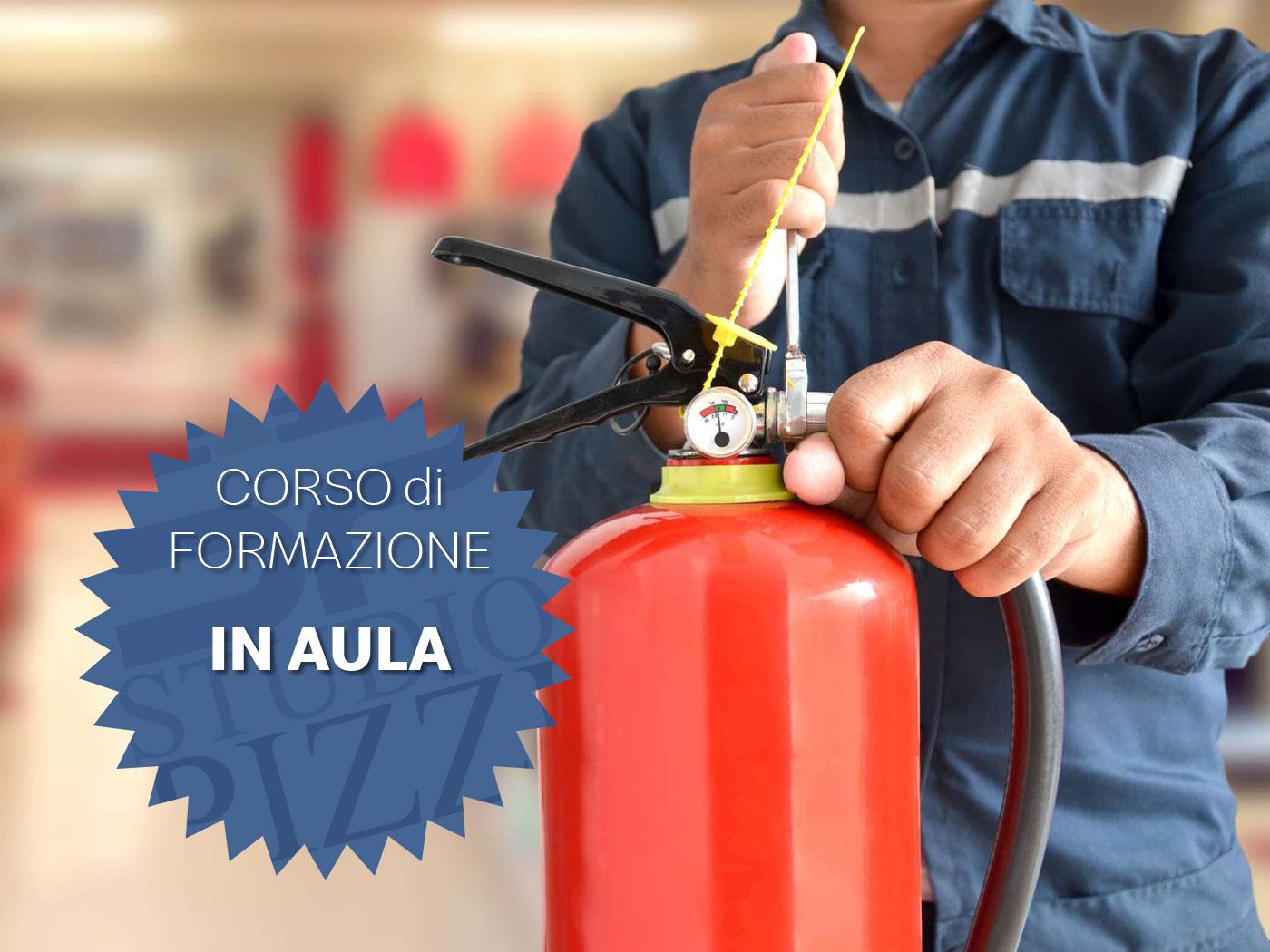 Studio PIZZI - formazione antincendio - aula