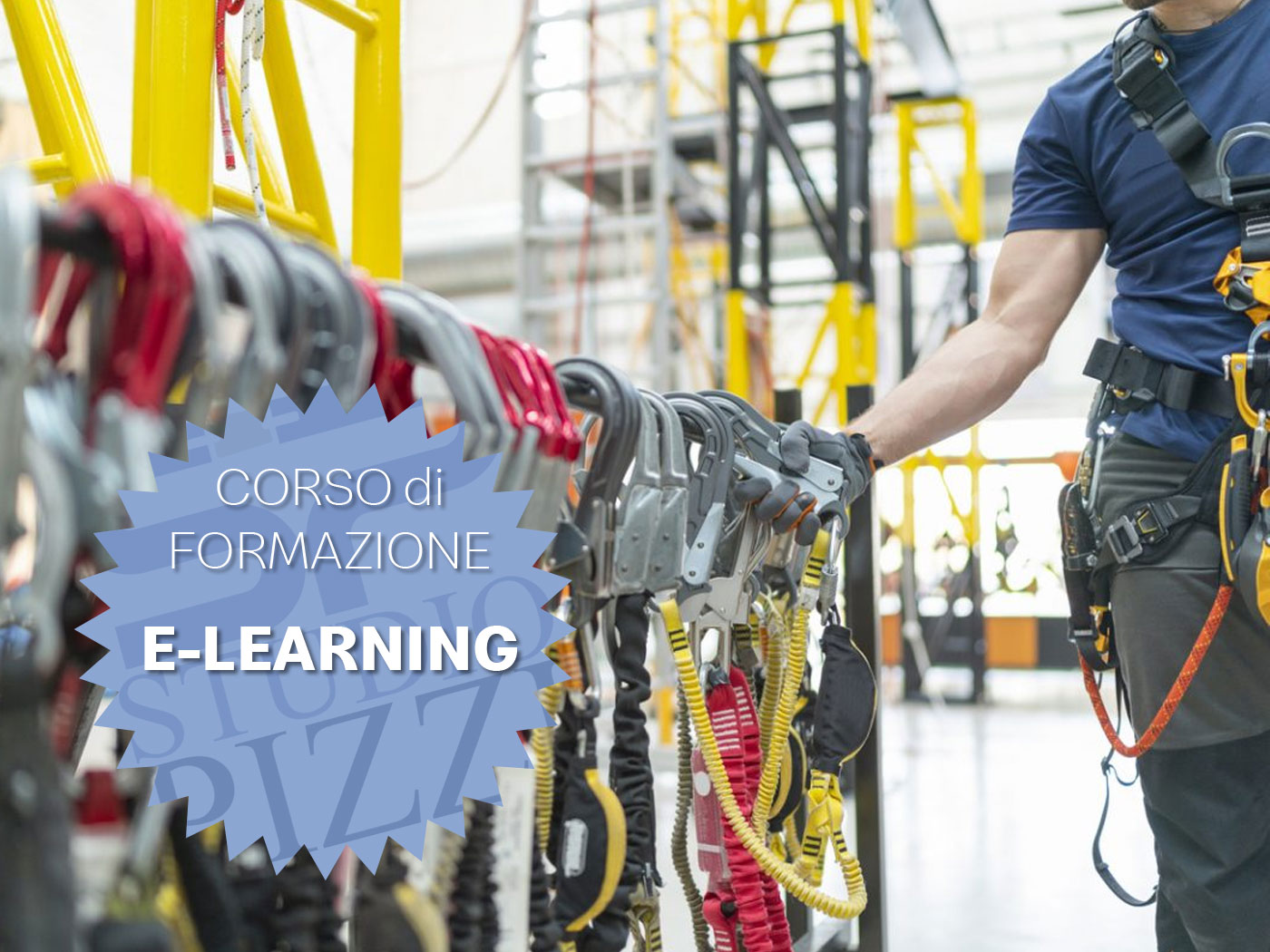 Studio PIZZI - formazione Lavori in quota e DPI - e-learning